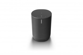 Sonos Move Schwarz Smart Speaker mit Akku für großartigen Sound drinnen und draußen