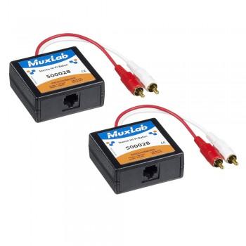 MuxLab 500028-2PK (Stereo Hifi Balun Set)