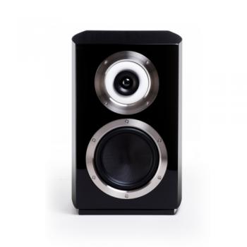 Cabasse Murano Hochglänzend schwarz / Stoff schwarz Paarpreis