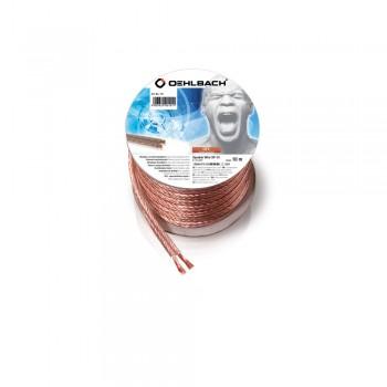 Oehlbach Speaker Wire SP15 10m (Mini-Spule/transparent)