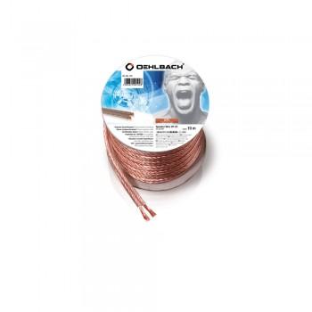 Oehlbach Speaker Wire SP25 10m (Mini-Spule/transparent)