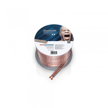 Oehlbach Speaker Wire SP40 10m (Mini-Spule/transparent)