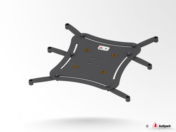 Audipack UNIVERSALPLATTE XL SCHWARZ <30 KG