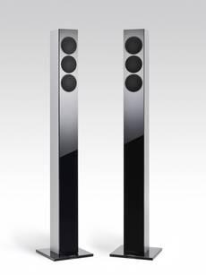 Revox G column in silber Paar