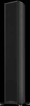 Piega Premium Wireless 701 Gehäuse schwarz eloxiert - Abdeckung Stoff schwarz Paarpreis