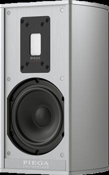 Piega Premium Wireless 301 Gehäuse Aluminium - Abdeckung Stoff grau und Piega connect